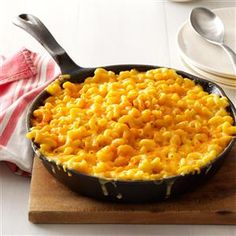 Homey Mac & Cheese Recipe from Taste of Home