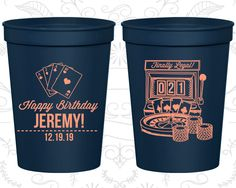 21st Birthday Party Cups, Personalized Birthday Favor Cups, Vegas Birthday Cups, Finally Legal Cups, Finally 21 Cups (20063) by MyWeddingStore on Etsy