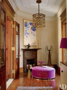 Contemporary Entrance Hall by Drake Design Associates in New York, New York