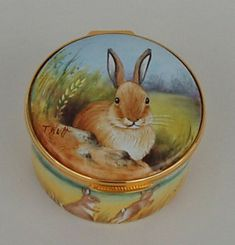 Silver Quill Antiques and Gifts - Limoges China and English Enamel Hinged Boxes