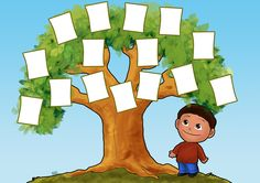 Free Family Tree Templates for children