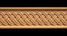 Decorative Frieze Moulding - Celtic Double Weave