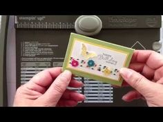 Reclosable Gift Card Holder with Sharing Creativity and Company - YouTube