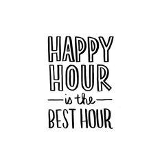 The best hour #Happyhour