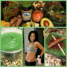 e12af4fea0a Recipe by Betty Rocker  Super Green Drink Soup! Raw Protein Powder