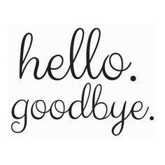 Hello Goodbye Door Decal Black  sc 1 st  Pinterest & Front Door Decal Hello Vinyl Decal Hello Door Decal Front Door Decor ...