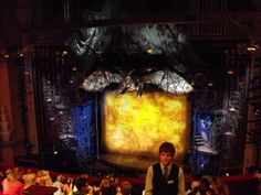 Inside the Apollo Victoria Theatre London showing Wicked the Musical Theater Tickets, Land Of Oz, London Theatre, Beautiful Stories, Wizard Of Oz, Apollo, Musicals, Dragon