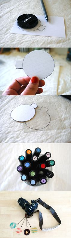DIY camera colour filter tutorial, this this is such a cool idea