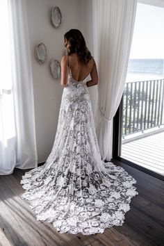 Lace wedding dress with sleeves, Lace wedding dress opens back, Lace wedding dress vintage, Lace wedding dress off the shoulder, Lace wedding dress a line, Lace wedding dress country, Lace wedding dress boho, Lace wedding dress mermaid, Lace wedding dress sweetheart, Lace wedding dress simple. Lace Wedding Dress With Sleeves, Lace Bride, Lace Mermaid Wedding Dress, Sexy Wedding Dresses, Wedding Dress Styles, Vow Renewal Dress, Farewell Dresses, Grace Loves Lace, Lace Weddings