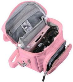 maybe not pink, but its awesome. PINK TRAVEL BAG CARRY CASE NINTENDO 3DS DS LITE DSi XL