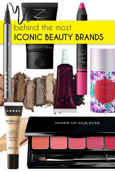 While studying graphic design in college, I naturally had to take a few art history classes. I thought they would be super-boring, but I ended up loving them! Learning the history of some of the industry's most iconic beauty brands was no different. It's fascinating to hear how some of these multimillion-dollar brands started from humble beginnings.