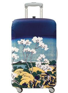 LOQI MUSEUM Collection – Mt.Fuji from Gotenyama Hill Luggage Cover