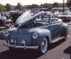 1940 Chrysler Coupe   1940 Chrysler Windsor convertible