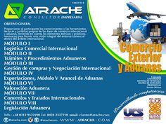 @AtracheCom #aduanas #ComercioExterior PROGRAMA DE ALTA GERENCIA EN COMERCIO EXTERIOR Y ADUANAS Certificación UCV-UCS * En Nueva Esparta, Anzoátegui, Sucre, Monagas, Bolívar * + 58 (212)9522590 / (424) 233.7210 * http://www.atrache.com  * Twitter: @AtracheCom  #Cupos Limitados