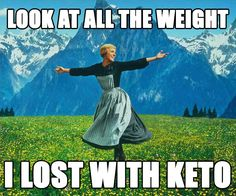 The hills are alive with the sound of Maria's Keto diet! #keto #lchf #lowcarbs #diet