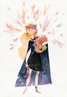 Luna Lovegood by Suwi