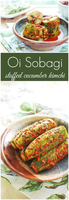 REBLOGGED - Refreshing summer kimchi made with cucumbers!