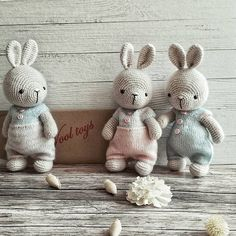 Bunny Crochet, Knitted Bunnies, Crochet Teddy, Easter Crochet, Crochet Doll Pattern, Crochet Toys Patterns, Amigurumi Patterns, Stuffed Toys Patterns, Amigurumi Doll