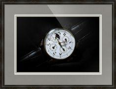 "Breguet Moonphase Triple Calendar Swiss Watch // Paper: enhanced matte; Glazing: acrylic; Moulding: black, providence black; Top Mat: black/gray, gull; Middle Mat: white/cream, canvas; Bottom Mat: black/gray, granite // Price starts at $163 (Petite: 19.25"" x 22.25""). // Customize at http://www.imagekind.com/Breguet-Moonphase-Triple-Calendar-Swiss-Timepiece_art?IMID=60cf7cc5-000e-433f-9585-738260b6974f"