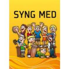 """Sangbogen """"syng med"""" indeholder mine illustrationer, inkl. forsiden."""