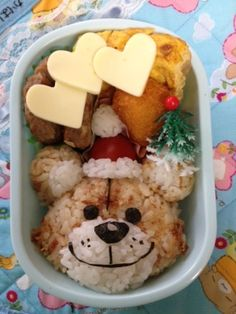 """Suzy's Zoo"" - japanese recipe/キャラ弁☆スージーズーBoof☆~マヨおかか味~/お弁当"