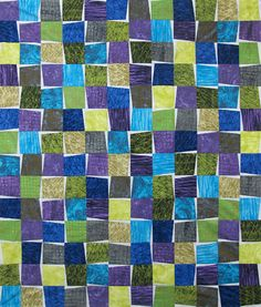 aardvark quilt patterns | mosaic quilt kit finished quilt size 45 1 2 x 62 1 2 a simple one ...