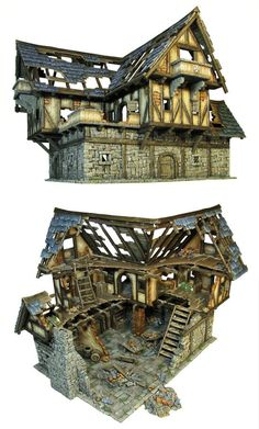 Tabletop World Ruined Coaching Inn Mehr