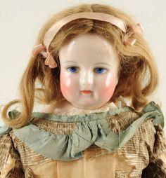 "Rohmer 15"" French doll, kid body."