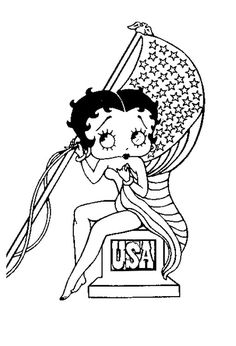 betty boop xmas coloring pages wwwmorningkids