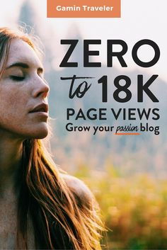Our first month travel blogging. How to grow your blog and get your first views. From Zero to 18 000 views. #travelblogger #blogger
