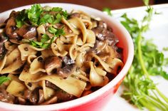 Vegan Mushroom Stroganoff | 30 Quick Vegan Dinners That Will Actually Fill You Up