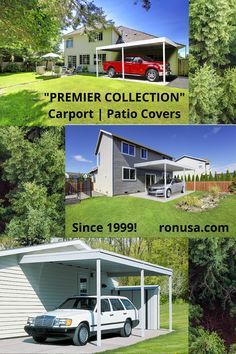 Carport | Patio Covers: Premier Collection is available at a very attractive price. #carport #patiocovers; #patio
