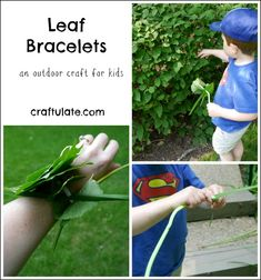 Leaf Bracelets - a really lovely way to celebrate nature with kids! Mason Jar Crafts, Mason Jar Diy, Crafts To Make And Sell Unique, Paper Flower Centerpieces, Diy Outdoor Weddings, Small Craft Rooms, Craft Room Design, How To Make Paper Flowers, Popular Crafts