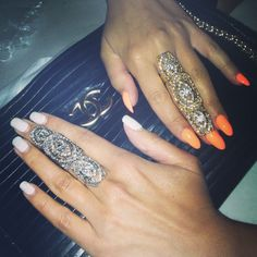 Full finger rings to order email order@roziem.com