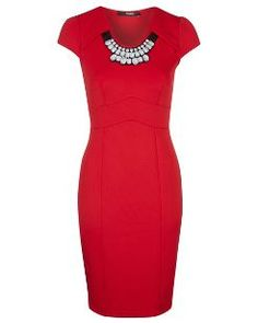 Embellished Necklace Dress £18 George @Asda