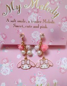 Sanrio my melody earrings