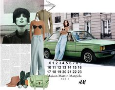 """""""Maison Martin Margiela with H"""" by krahmmm ❤ liked on Polyvore"""
