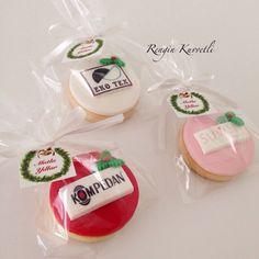 Eko Tekstil Yılbaşı organizasyonu için hazırladığımız kurabiyelerimiz.
