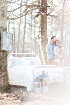 a Valentines Day Camp Out – Vintage Engagement Photography » Vintage Wedding Photography