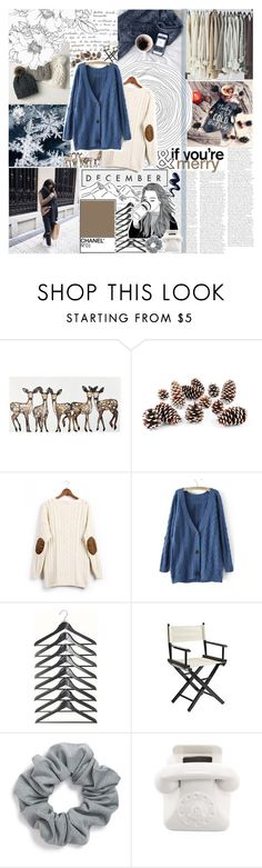 """""""Chesnuts roasting on an open fire"""" by ayeitzsarah on Polyvore featuring Knud Nielsen Company, Pier 1 Imports, LIST, Natasha Couture, Jonathan Adler and madebysarahrose"""