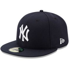 bb047a91c54 Youth New Era Navy New York Yankees Authentic Collection On-Field Game  59FIFTY Fitted Hat