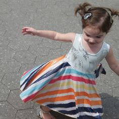 Nothing like a reversible rainbow dress to put a smile on a girls face. Girls Boutique Dresses, Boutique Clothing, Girls Dresses, Flower Girl Dresses, Friends Fashion, Kids Fashion, Fashion Outfits, Little Girl Summer Dresses, Smart Outfit
