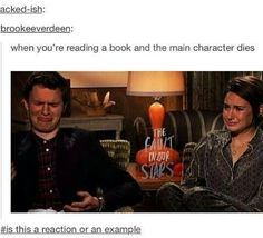 Pretty much any character in any book I've ever liked........