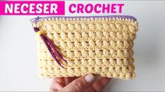 Crochet and zipper bag