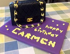 Birthday cake for my sister Carmen Paredes, March/2015.