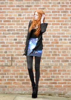 Olivia Emily - UK Fashion Blog.: Asteroid Blues.