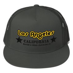 Los Angeles California Trucker Cap Snapback