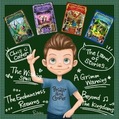 chriscolfer TLOS is so great ! BEST BOOKS EVER