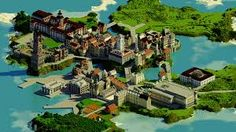 City of minecraft