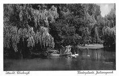 datering1930 - 1937 beschrijvingGezicht in het Julianapark te Zuilen.